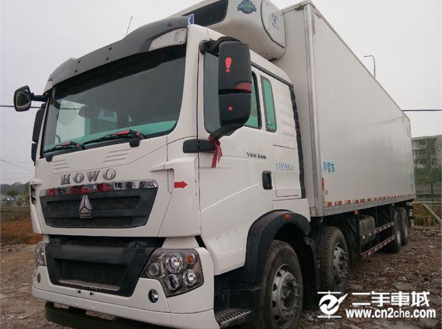 中國重汽 豪沃  T5G 國五冷藏車   340馬力
