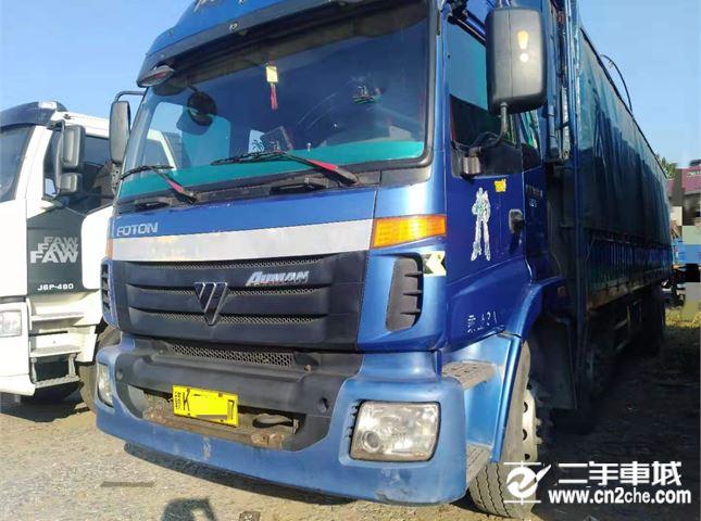 福田 歐曼 載貨車 ETX 6系重卡 290馬力 8X4 倉柵載貨車(高頂)(BJ5247VLCJR-S1)