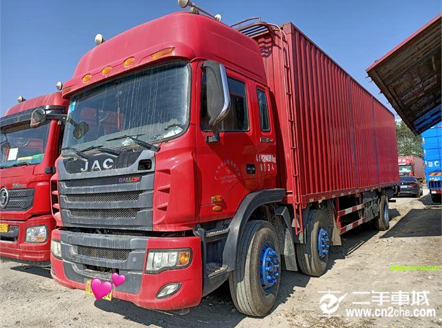 江淮 江淮格爾發K系列 載貨車 K5重卡 280馬力 6X2 9.6米廂式載貨車底盤(HFC1251P1K4D54S7V)