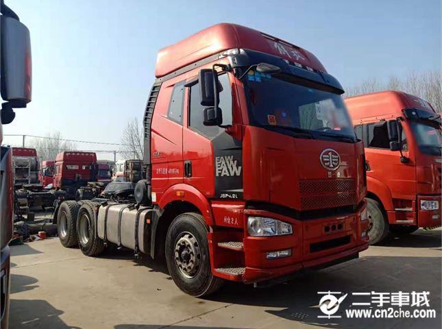 一汽解放 J6P 牵引车 重卡 寒区版 420马力 6X4牵引车(CA4250P66K24T1E5)