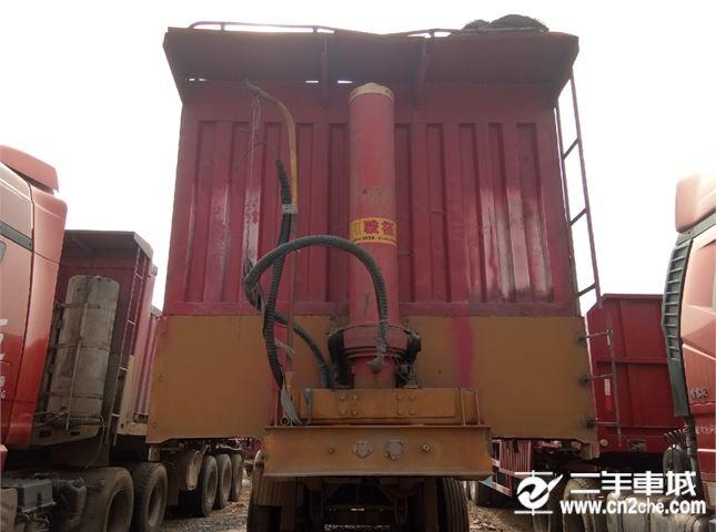 掛車 自卸半掛車 輕量化自卸正翻   1.1米高