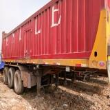 挂车 自卸半挂车 1.5米高  8.5米厢式自卸车厢