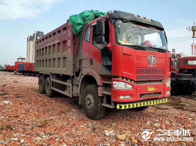 一汽解放 J6P 自卸車 重卡山區版420馬力6X4自卸車6米