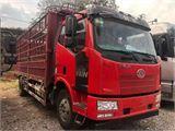 一汽解放 J6L 載貨車 中卡質惠版220馬力4X2 6.75米欄板載貨車底盤