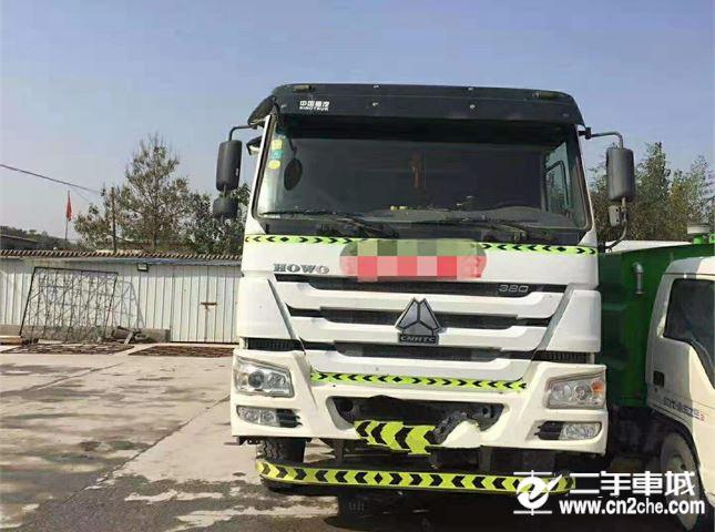 中國重汽 攪拌車 二手攪拌貨車