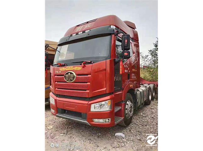 一汽解放 J6P 牽引車  新J6P重卡 領航版 500馬力 6X4牽引車(CA4250P66K25T1A1E5)
