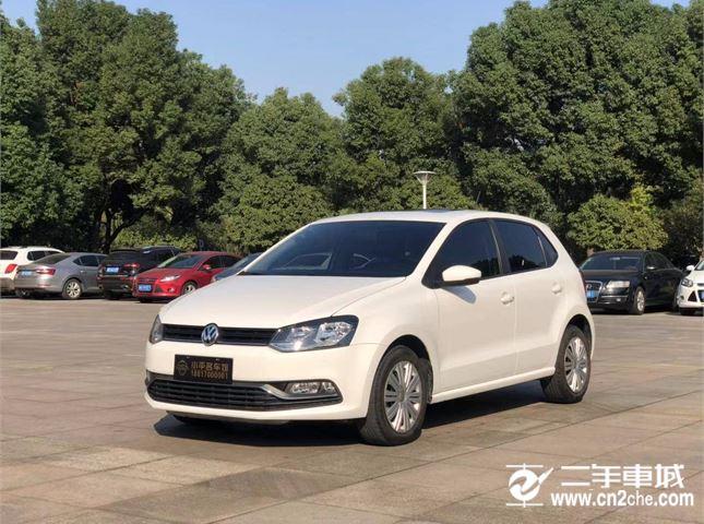 大众2016款二手大众POLO1.6L自动舒适型价格8.18万