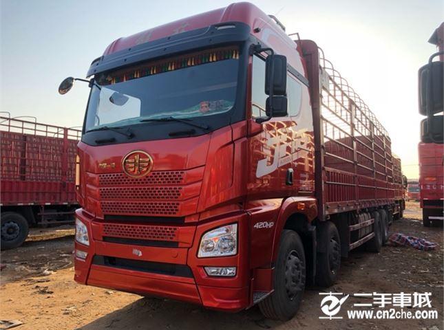 青島解放 JH6 420動力8X4載貨車