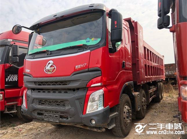 东风柳汽 乘龙H7 350动力8X4自卸车