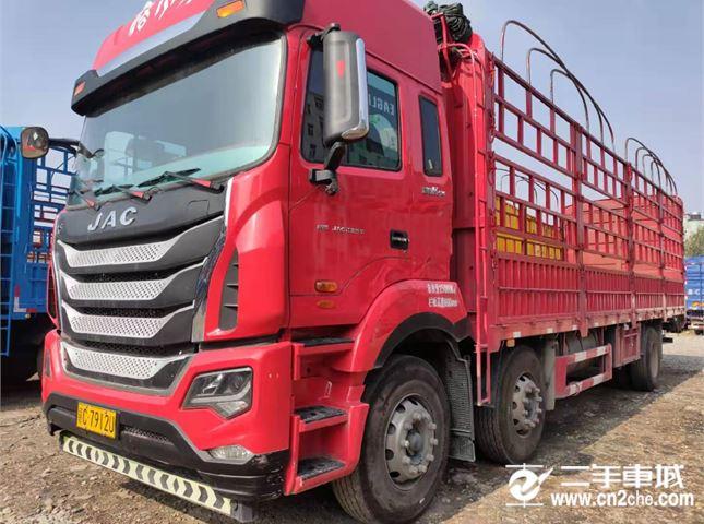 江淮 江淮格爾發K系列 載貨車 K5重卡 240馬力 6X2 7.8米排半欄板載貨車(HFC1251P2K3D46S2V)