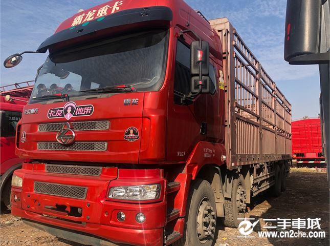 東風柳汽 霸龍 320馬力9.6米倉柵載貨車