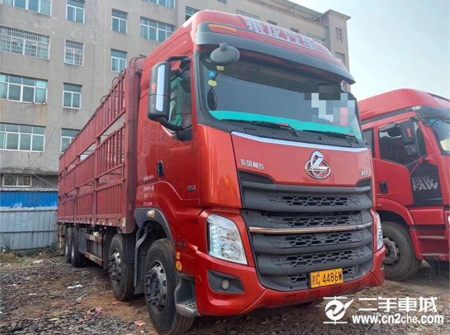 東風柳汽 乘龍 載貨車 H5 350馬力 8X4 9.5米倉柵式載貨車(LZ5310CCYH5FB)