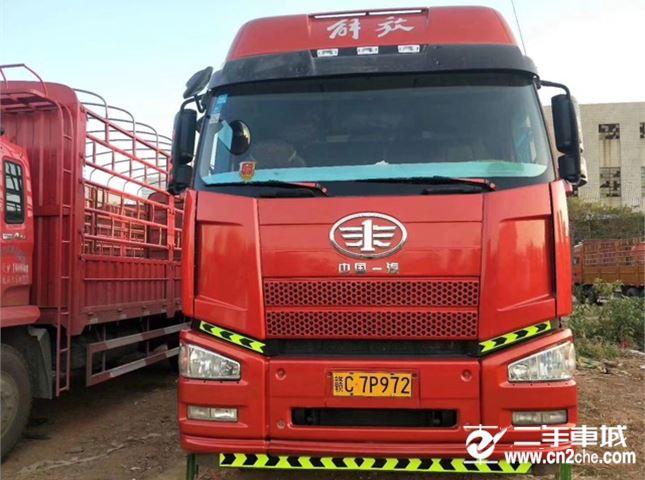 一汽解放 J6P 350动力8X4载货车