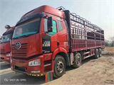 一汽解放 J6P 重卡 420马力 8×4 仓栅式 排半 载货