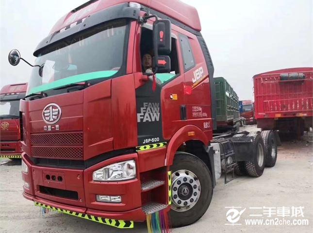 一汽解放 J6P 牽引車 高原版 J重卡 500馬力 6X4牽引車(CA4250P66K25T1A1