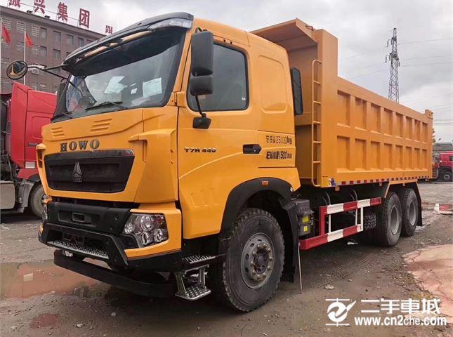 中国重汽 豪沃T7 440马力自卸车