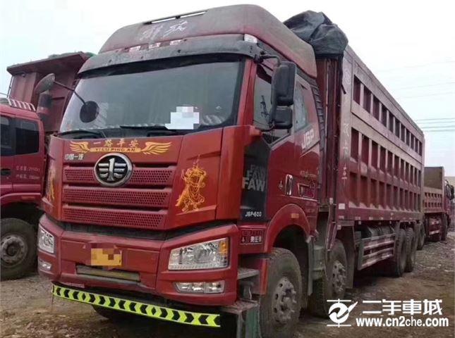 一汽解放 J6P 自卸货车500马力解放