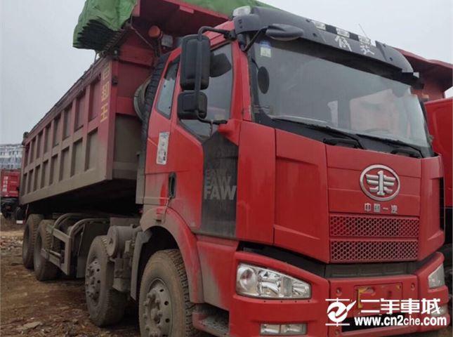 一汽解放 J6P 320动力8X4自卸车