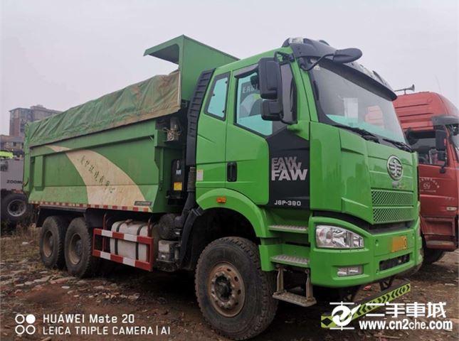 一汽解放 J6P 390動力6X4自卸車