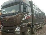 青島解放 JH6 載貨車 JH6重卡 420馬力 8X4 9.5米欄板載貨車
