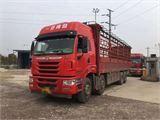 青島解放 途V 載貨車 重卡 350馬力 8X4 9.5米倉柵式載貨車