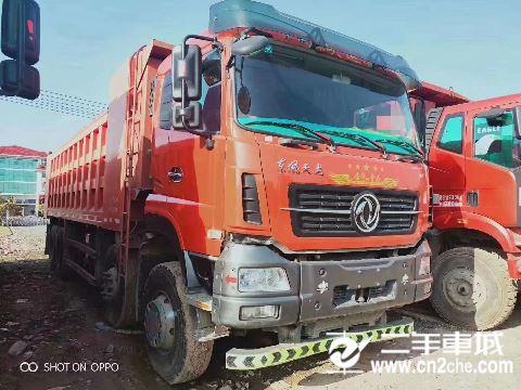 東風 天龍 KC重卡 420馬力 8X4 8.8米自卸車(雙機牌)(AY5310ZLJA4)
