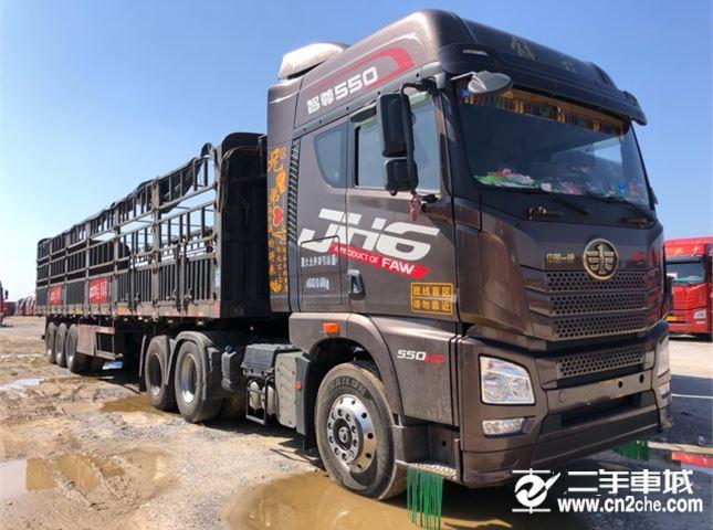 青岛解放 JH6 550动力6X4牵引车