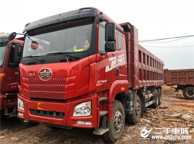 青岛解放 JH6 375动力8X4自卸车