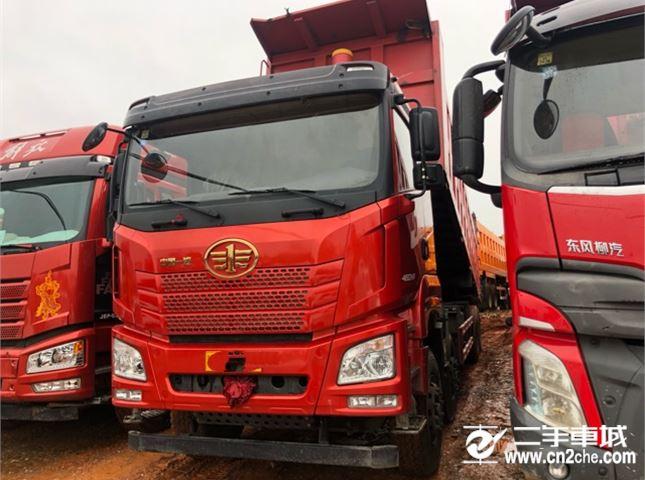 青島解放 JH6 460動力8X4自卸車