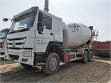 中國重汽 攪拌車 16年國四12方罐