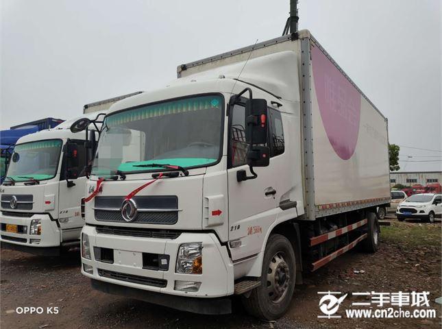 東風 天錦 210馬力7.7米單橋廂式載貨車