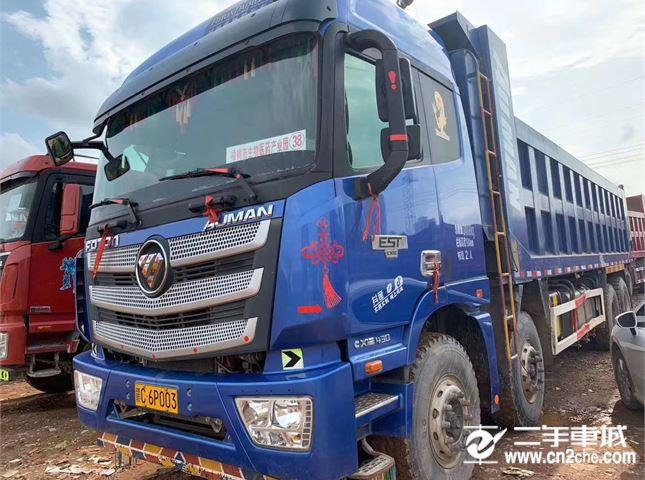 福田 歐曼 歐曼430馬力,8.6米貨箱