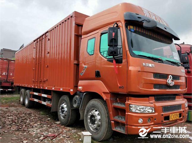 東風柳汽 乘龍M5 載貨車 重卡 310馬力 8X4 9.6米倉柵載貨車(LZ5311CCYQELA)