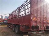 东风 天龙 315马力9.6米前四后八仓栅载货车