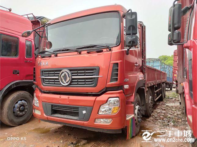 東風 天龍 350馬力9.6米前四后八平板載貨車