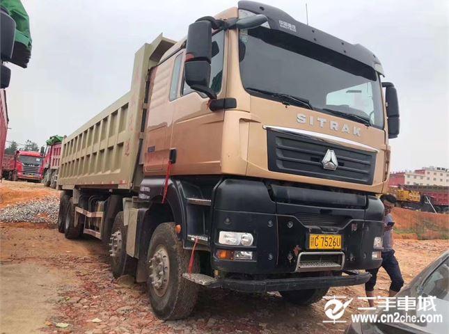中国重汽 汕德卡 牵引车  C7H重卡 440马力 6X2R牵引车(ZZ4256V323HE1)