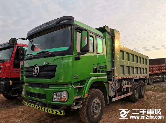 陜汽重卡 德龍X3000 自卸車 超強版 430馬力6X4 6.2米自卸車(SX33105C486B)