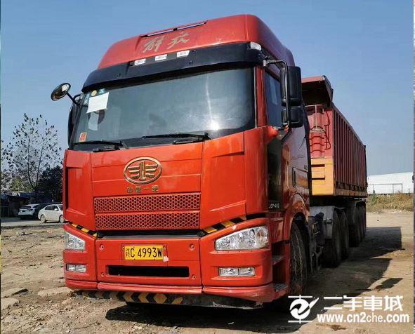 一汽解放 J6P 牽引車 重卡 420馬力 6X4牽引車(CA4250P66K24T1E5)