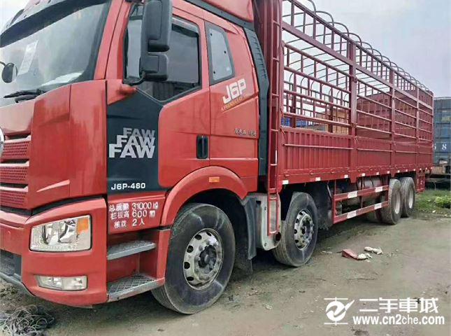 一汽解放 J6P 載貨車 重卡 重載型 460馬力 8X4 9.5米欄板載貨車(CA1310P66K24L7T4E5)