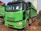 一汽解放 J6P 自卸車 重卡350馬力6X4LNG自卸車6米