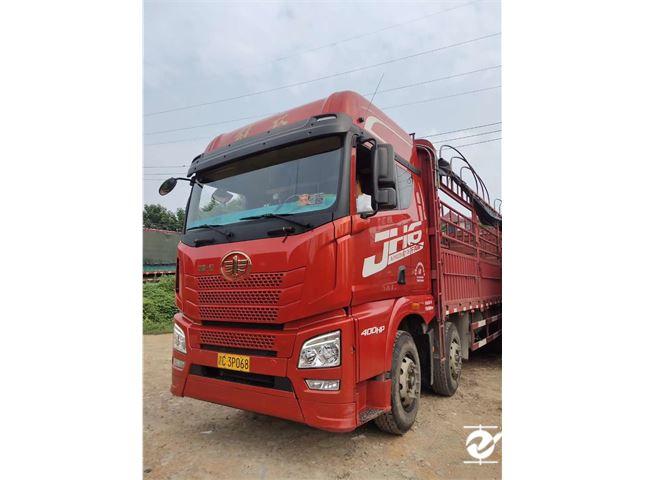 青島解放 JH6 載貨車 重卡 400馬力 8X4 9.5米載貨車(CA1310P25K2L7T4E