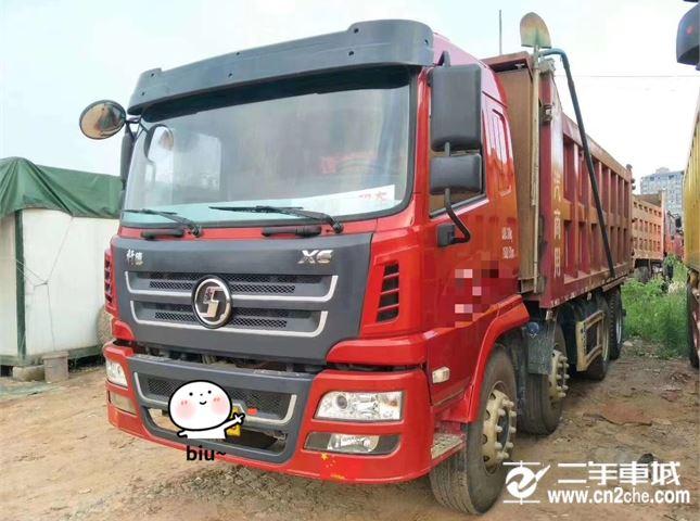 陕汽重卡 轩德 载货车 X3重卡270马力4X2厢式载货车9.5米