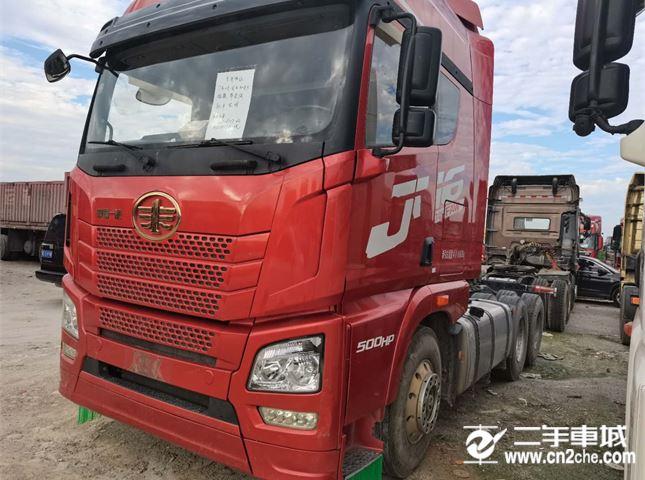 青島解放 JH6 牽引車 JH6重卡 500馬力 6X2R牽引車