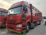 一汽解放 J6P 420馬力9.6米前四后八倉柵載貨車