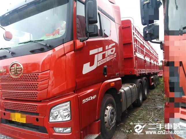 青岛解放 JH6 牵引车 550牵引车