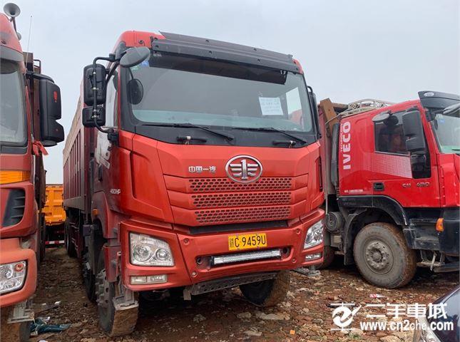 青島解放 JH6 自卸車 重卡 430馬力 8X4 8.8米自卸車(CA3311P27K15L6T4E5A80)