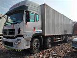 東風 天龍 245馬力9.6米前四后四廂式載貨車