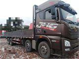 青島解放 JH6 420馬力9.6米前四后八平板載貨車