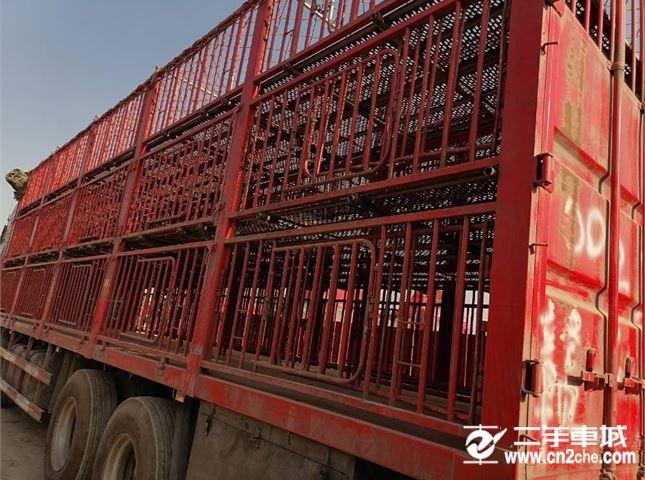 东风 天龙 450马力猪笼车