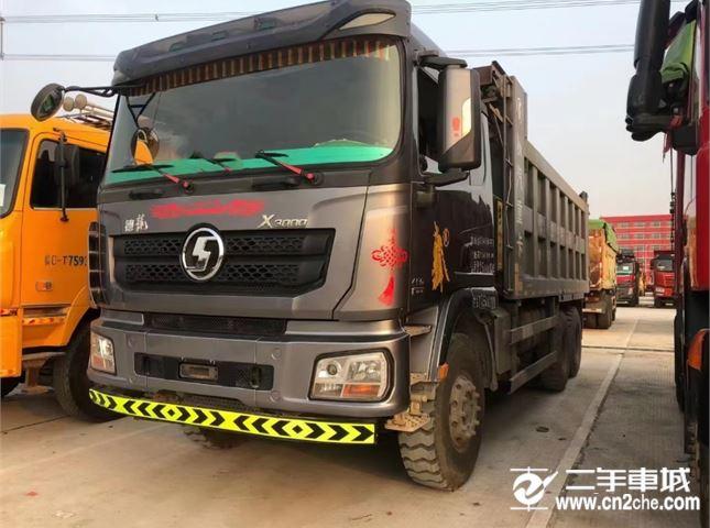 陜汽重卡 德龍X3000   460馬力自卸車